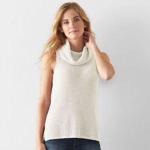 Sonoma • Waffle Knit Cowl Neck Sweater